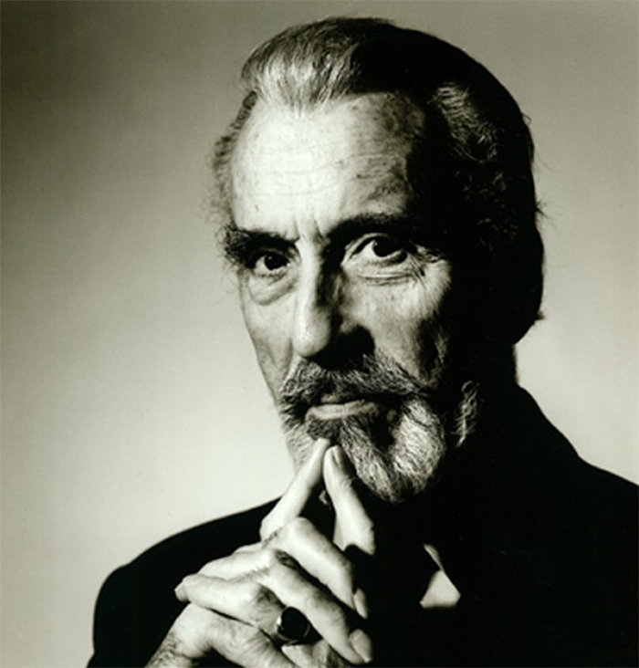 Sir Christopher Lee 1922 - 2015