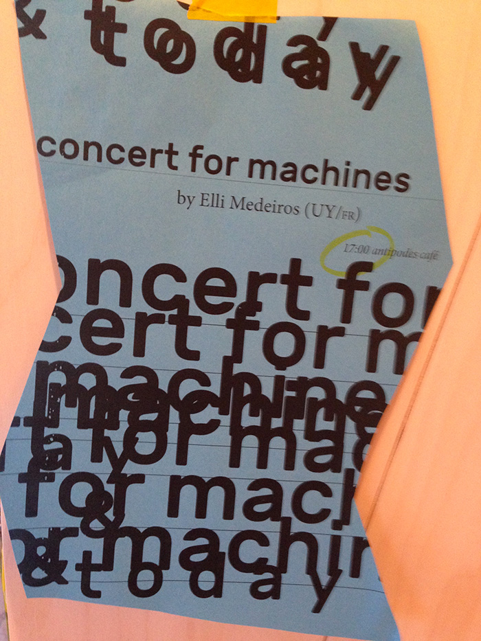 concert for machines
