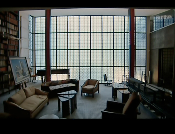 maison de verre image. Black Bedroom Furniture Sets. Home Design Ideas
